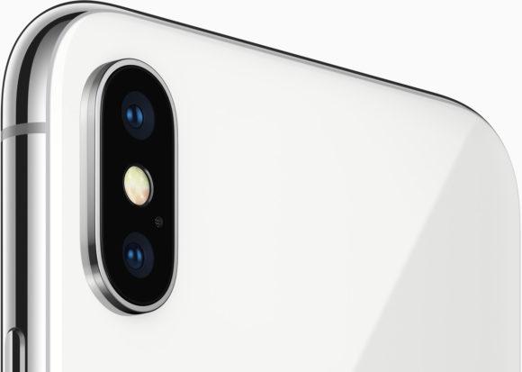 iphone x のカメラ部分をピックアップ