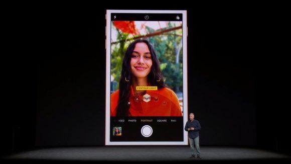 iPhone8 ポートレートモードの紹介