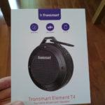 【レビュー】大満足!Element T4を2か月使ってみた感想【Bluetoothスピーカー】