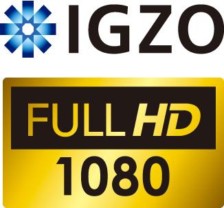 IGZO FULL HDのロゴ