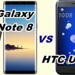 【比較】Galaxy Note 8とHTC U11をくらべてみた!【SCV37 vs HTV33】