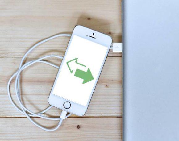 iphone バックアップ PCとUSBで接続する