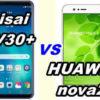 【比較】isai V30+とHUAWEI nova2 の性能をくらべてみた!【LGV35 vs HWV31】
