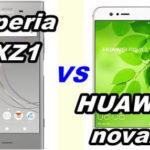 【比較】Xperia XZ1とHUAWEI nova2 の性能をくらべてみた!【SOV36 vs HWV31】
