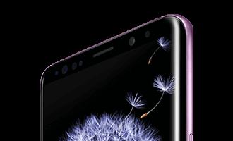 Galaxy S9 SCV38 インカメラ付近