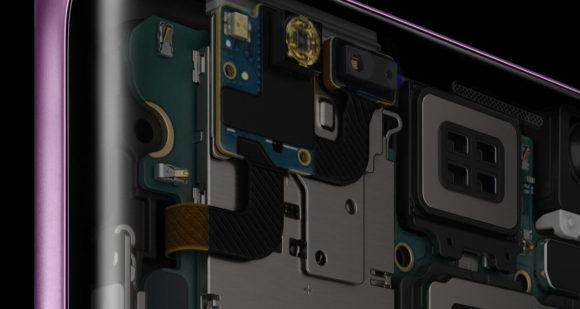 Galaxy S9 SCV38  背面内部