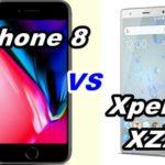 【比較】iPhone 8とXperia XZ2の性能を比べてみた!