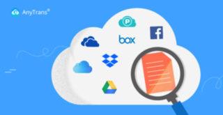 複数のクラウドサービスを1つ管理!AnyTrans for Cloudが便利!
