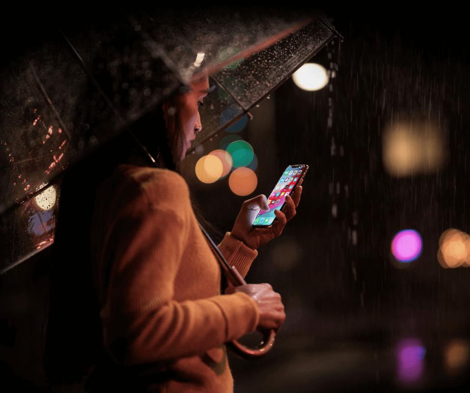 iphone XS 防水