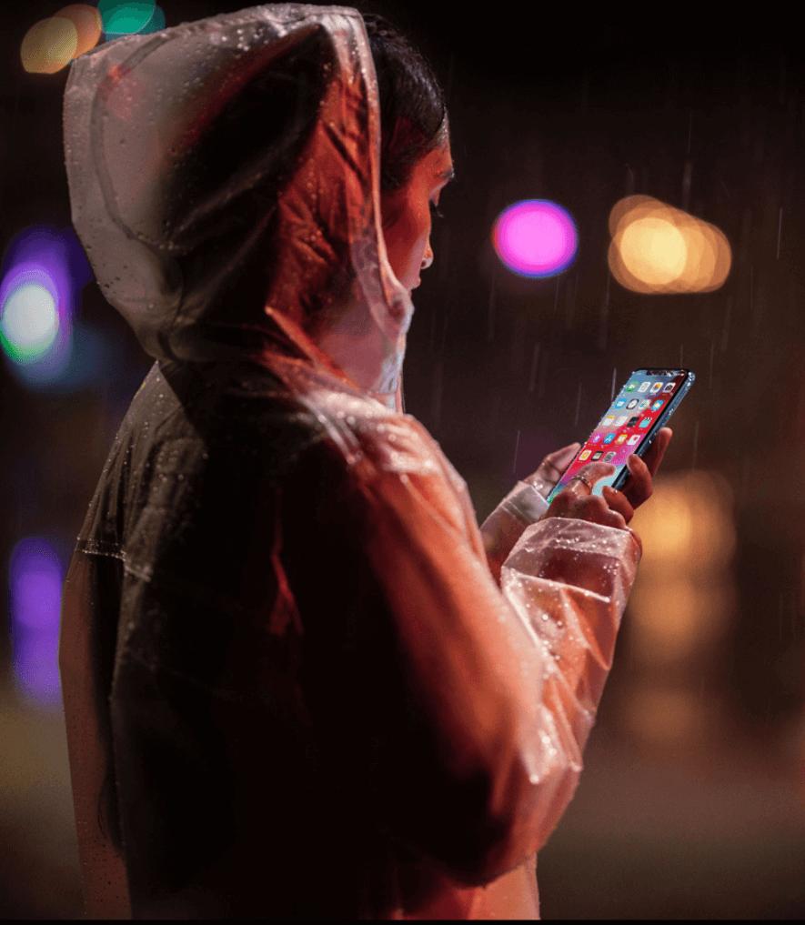 iphone XR 防水性能