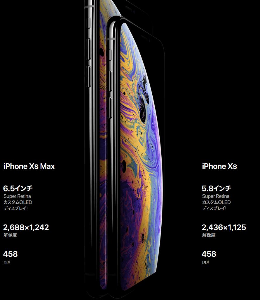 iphone XS MAX 画面性能