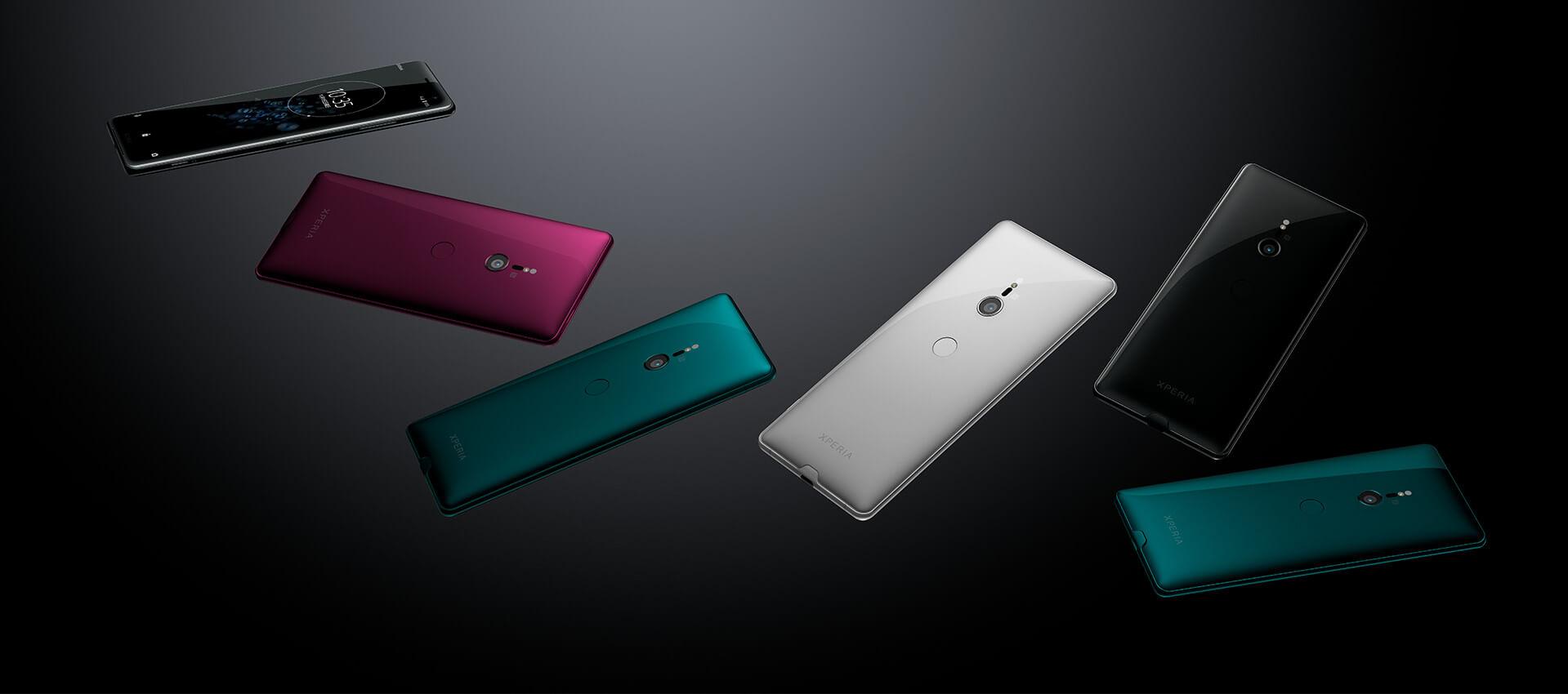 Xperia XZ3カラーバリエーション