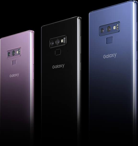 Galaxy Note9 カラー