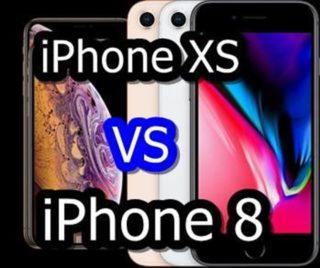 【比較】iPhone XSとiPhone 8はどこが違うの?徹底的にくらべてみた!
