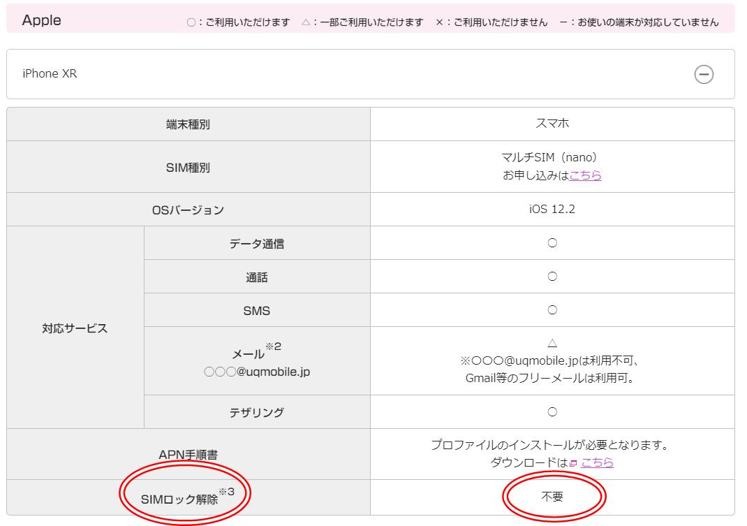 iphone XR simrock kaijoumu