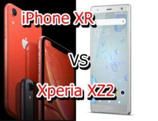 【比較】iPhone XRとXperia XZ2はどこが違うの?徹底的にくらべてみた!